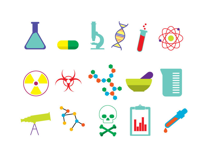 15 Free Useful Science Icons