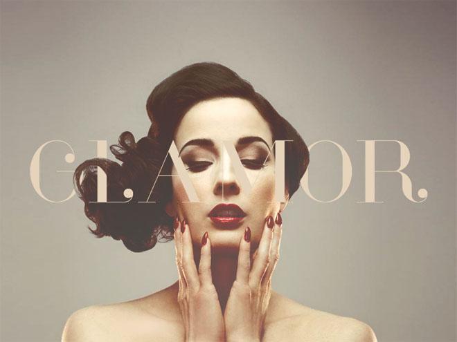 Glamor – Free Chic & Modern Typeface Family