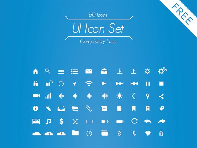 Free UI Icon Set by Chris Vernon