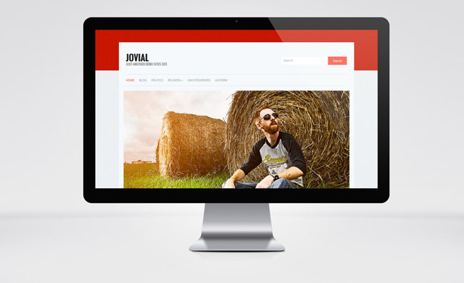 Jovial: Portfolio and Personal WordPress Theme