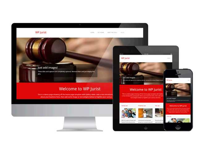 WP Jurist – Responsive WordPress Theme for Lawyer