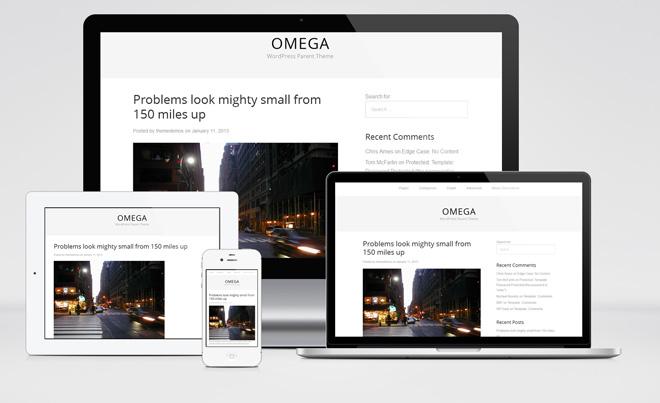 Omega : Responsive WordPress Theme Framework