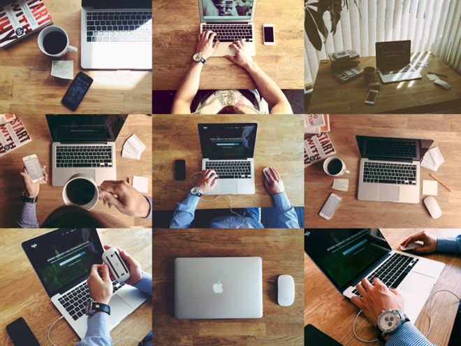Free Stock Photo of People with Technology