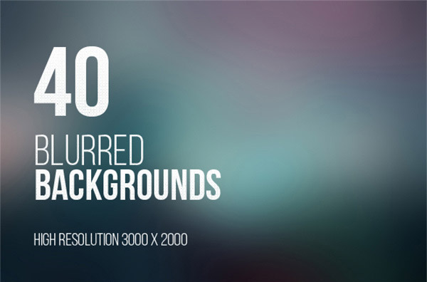 40 Free High Resolution Blurred Backgrounds