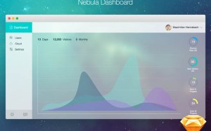 Nebula Web Admin Dashboard (Sketch)