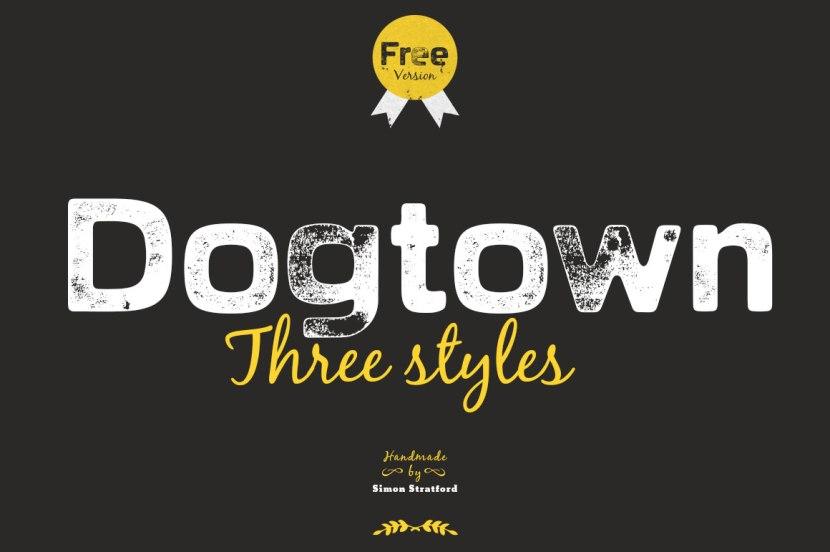 Dogtown Font (Free Version)