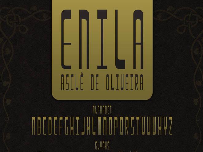 Enila Free Font