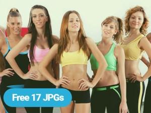 free gym stock photo