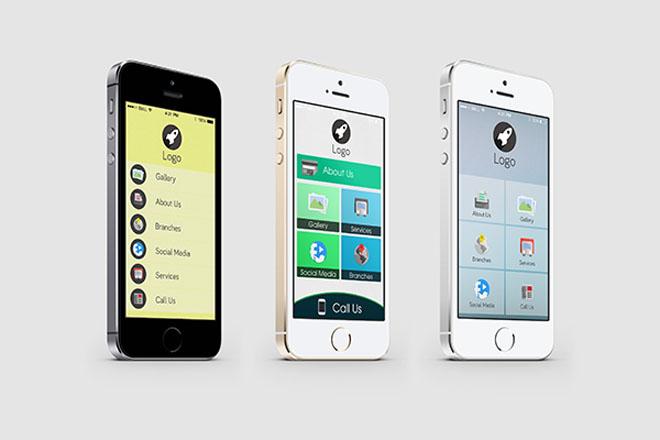 Free Mobile App UI Design Templates
