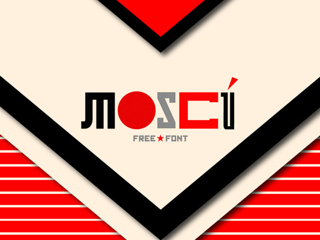 MOSCÚ : Free Russia Inspired Font