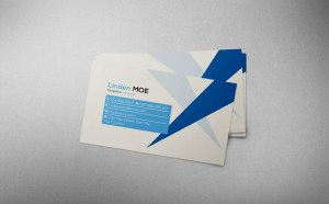 Free Simple Business Card PSD Template