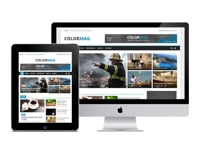 ColorMag : Free Magazine WordPress Theme
