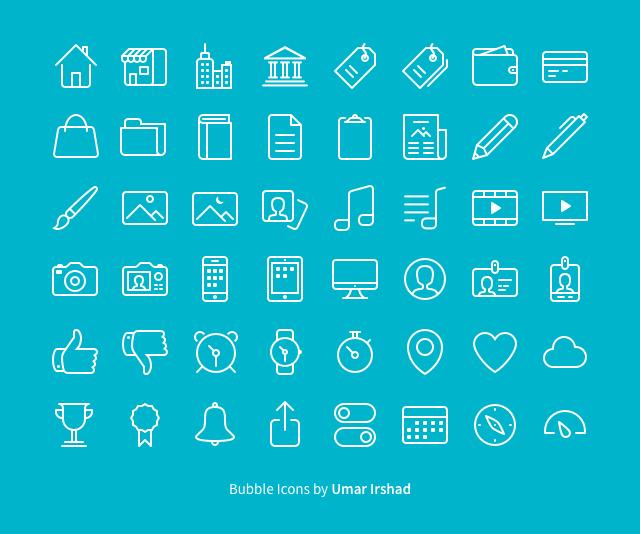 48 Free Bubble Icons