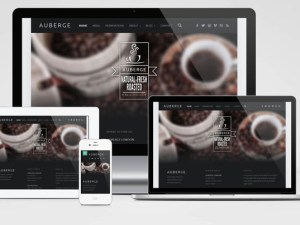 Auberge : Free Responsive Cafe Wordpress Theme