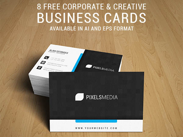 8 free elegant business card template free download freebiesjedi 8 free elegant business card template cheaphphosting Images
