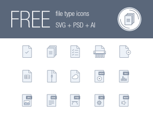 Free Vector File Type Icon