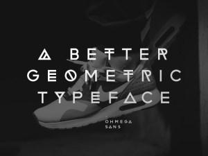 Ohmega Sans Free Typeface