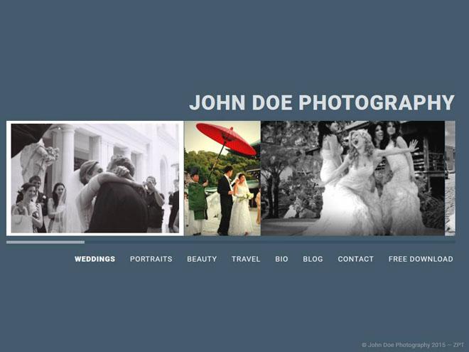Stream : Free WordPress Photography Theme