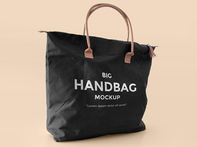 Hand Bag Mockup