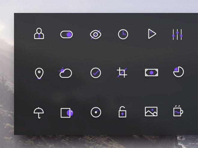Vio Late – 18 Free Vecor line Icons (AI and SVG)