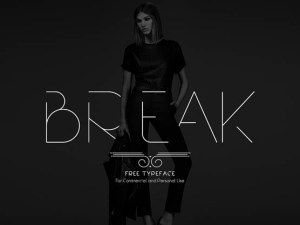 Break Free Modern Typeface
