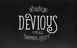Devious : Free Simple Retro Font