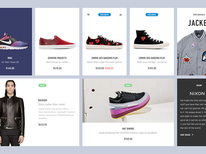 Bree : Products Blocs Ecommerce UI Kit