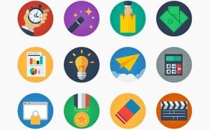 20 Free Modern Flat Icons