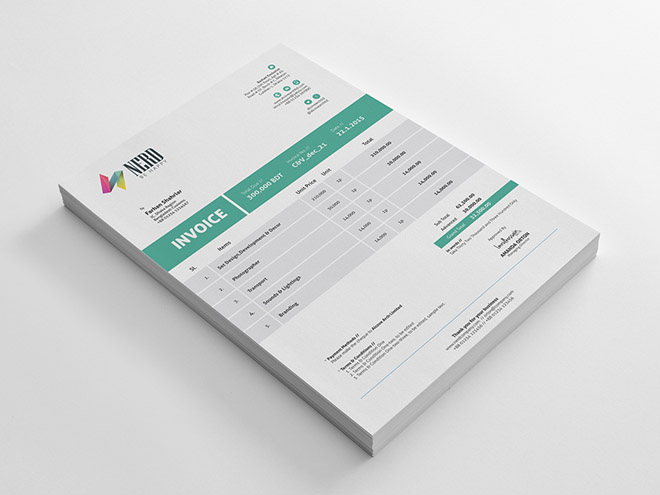 Free Invoice Template for Business