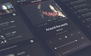 Philomela - iPhone 6 App Audio Player