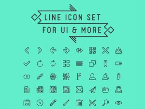 LineIcon : Free Line Icon Set for UI Design