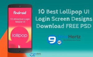 10 Unique Android Lollipop Login Screen UI Designs
