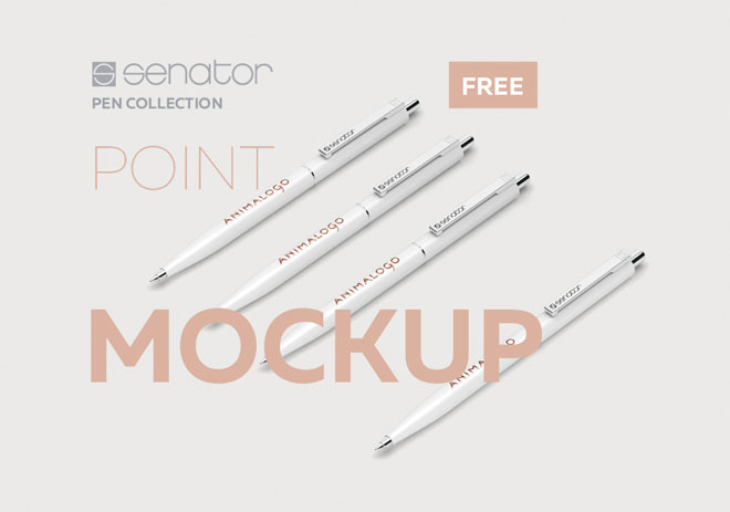 Free Pen Mockup PSD