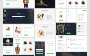 Rcipe : Food UI kit (Sketch)