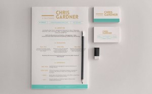 Free Resume and Business Card Template