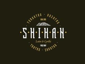 Shihan Free Display Font