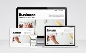 Simple Responsive Business WordPress Theme
