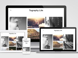 Tography Lite : Simple Photography Wordpress Theme