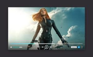 PlayerON : Video Player UI PSD