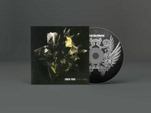 Album CD Artwork Mockup PSD