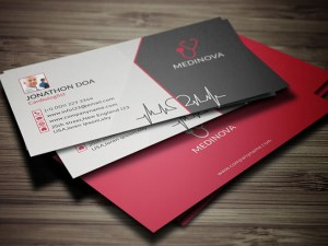 Free Doctor Business Card Template