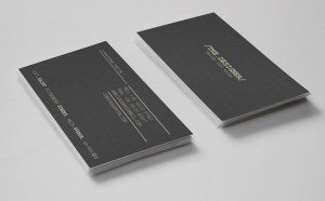 Minimal Business Card Template for Designer