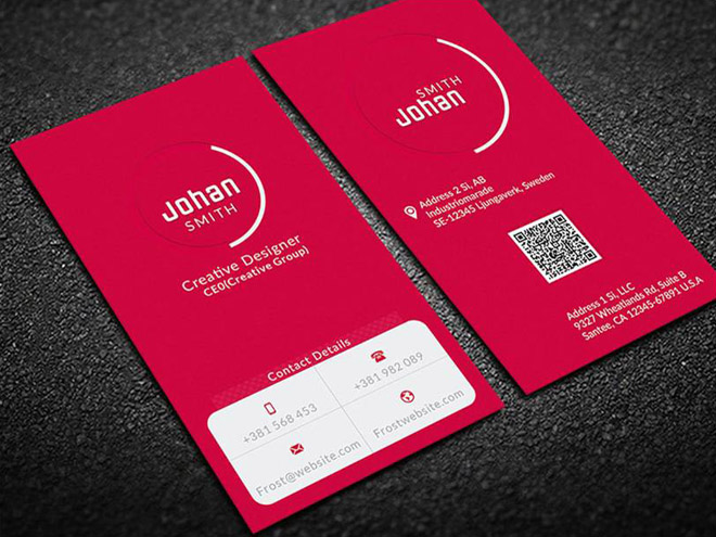 Free Single Color Business Card Template Free Download Freebiesjedi - Single business card template