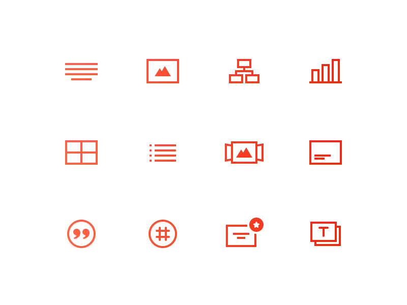 12 Free Line Icons