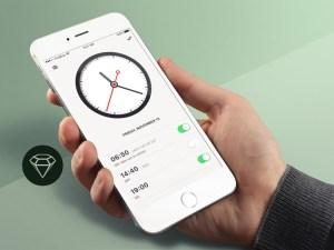Alarm Clock App UI