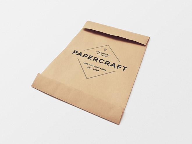 Big Envelope Mockup PSD