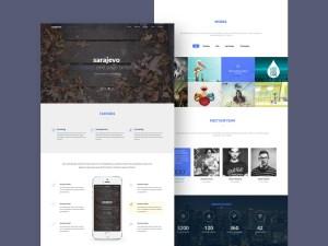 Sarajevo : Free Creative Landing Page Template