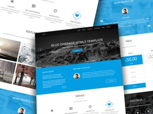 Blue : Free Onepage Business Template