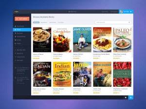 Book App UI PSD