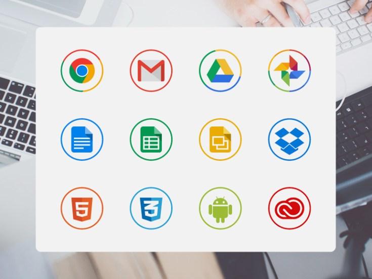 Free circle icons